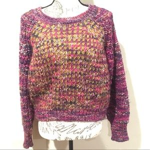 Anthropologie Moth Chunky Knit Sweater